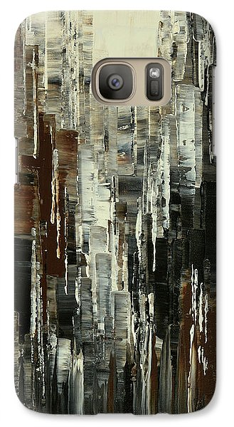 Galaxy Case featuring the painting Anarchist Breakfast by Tatiana Iliina