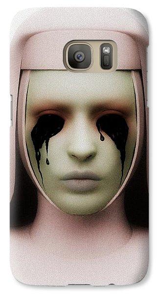 Galaxy Case featuring the digital art Anathema by Sandra Bauser Digital Art