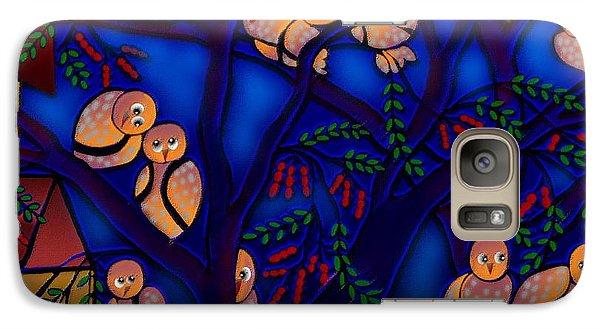 Galaxy Case featuring the digital art Ancestral Home Near The Tamarind Tree by Latha Gokuldas Panicker