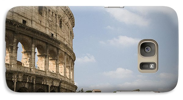 Galaxy Case featuring the photograph Ancient Colosseum by Jeremy Voisey