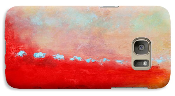 Galaxy Case featuring the painting Ancient Dreams by M Diane Bonaparte