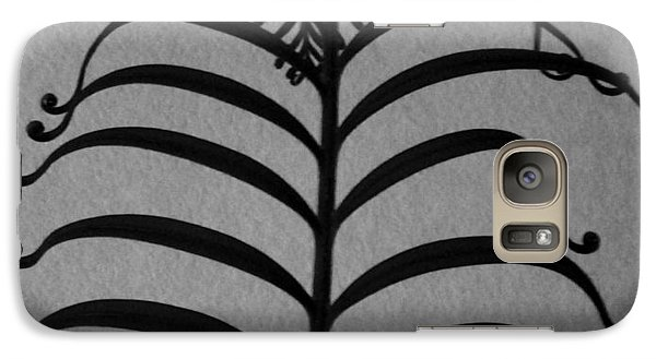 Galaxy Case featuring the photograph Ancient Filagree by Brenda Pressnall
