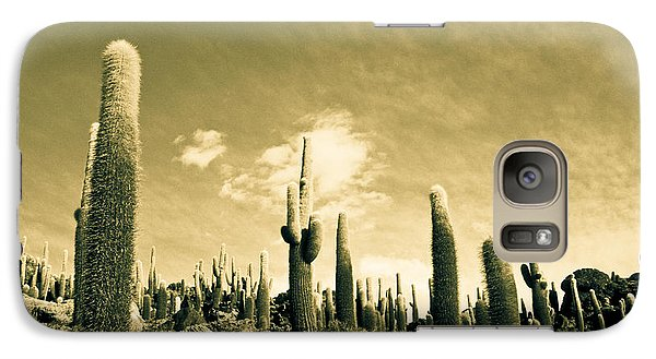 Galaxy Case featuring the photograph Ancient Giants by Lana Enderle