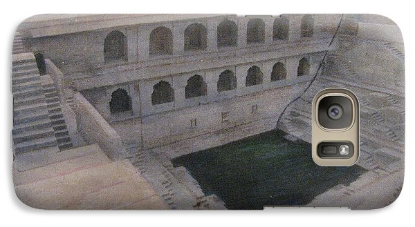 Galaxy Case featuring the painting Ancient India Well by Vikram Singh