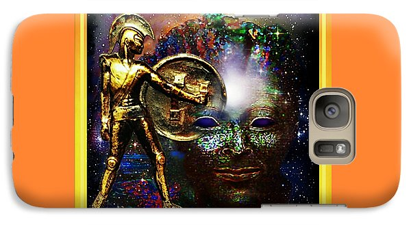 Galaxy Case featuring the relief Ancient Legends by Hartmut Jager