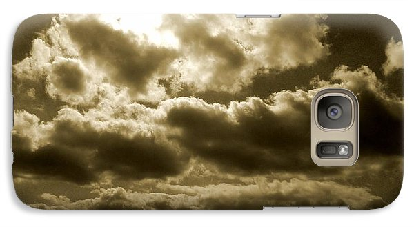 Galaxy Case featuring the photograph Ancient Mystery by Vicki Spindler