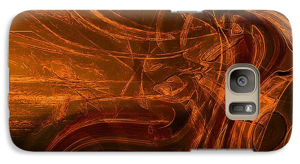 Galaxy Case featuring the digital art Ancient by Richard Thomas