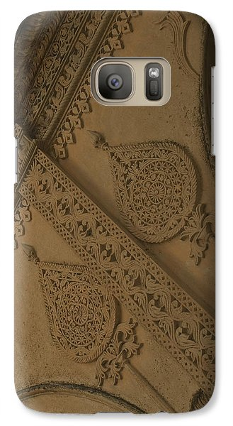 Galaxy Case featuring the photograph Ancient Wall by Mini Arora
