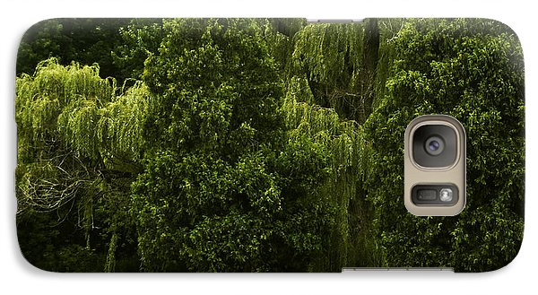 Galaxy Case featuring the photograph Ancient Willow by Kathleen Stephens