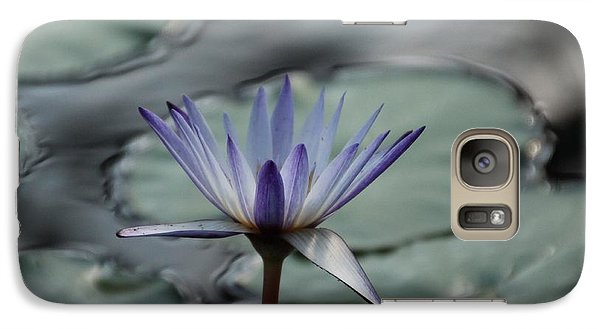 Galaxy Case featuring the photograph ...and Cue Lily  by Lynn England