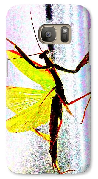 Galaxy Case featuring the photograph And Now Our Featured Dancer by Xn Tyler