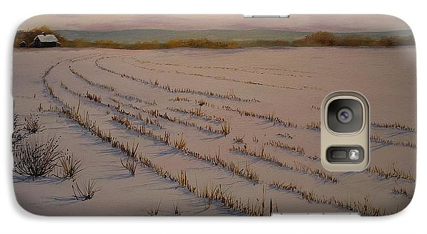 Galaxy Case featuring the painting And So It Begins by Ken Ahlering