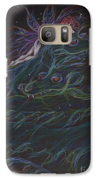 Galaxy Case featuring the drawing And Then What Happened by Dawn Fairies