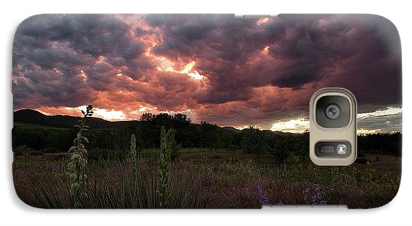 Galaxy Case featuring the photograph And There Was War In Heaven by Jim Garrison