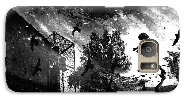 Pigeon Galaxy S7 Case - And We Sent Pigeons Earlier! by Vladimir Konkin