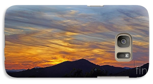 Galaxy Case featuring the photograph Andalucia Sunset Panorama by Rod Jones