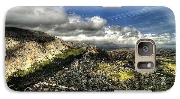 Galaxy Case featuring the photograph Andalusia - Mountain View by Julis Simo