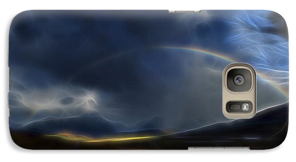 Galaxy Case featuring the digital art Andean Rainbow by William Horden