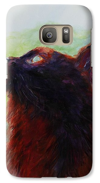 Galaxy Case featuring the painting Anderson's Shadow by Susan Fisher
