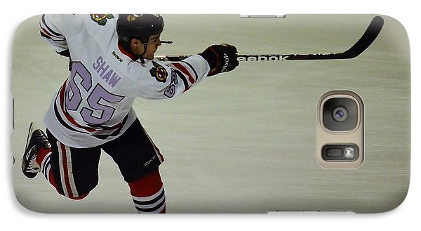 Galaxy Case featuring the photograph Andrew Shaw Fights Cancer by Melissa Goodrich