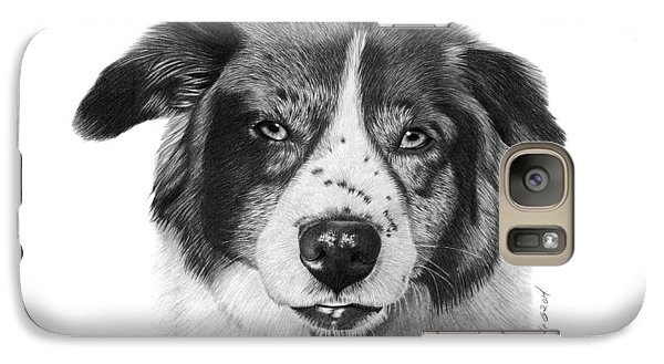 Galaxy Case featuring the photograph Andy - 032 by Abbey Noelle