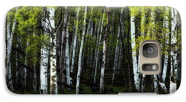 Galaxy Case featuring the photograph Anew by The Forests Edge Photography - Diane Sandoval