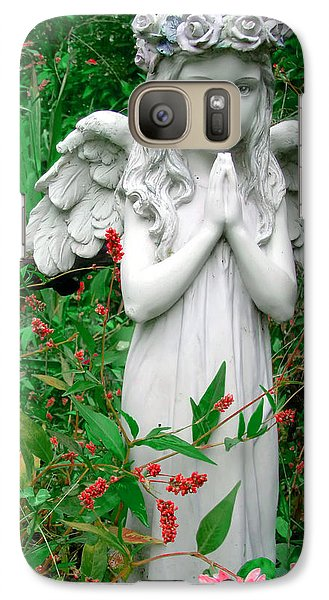 Galaxy Case featuring the photograph Angel by Aimee L Maher Photography and Art Visit ALMGallerydotcom