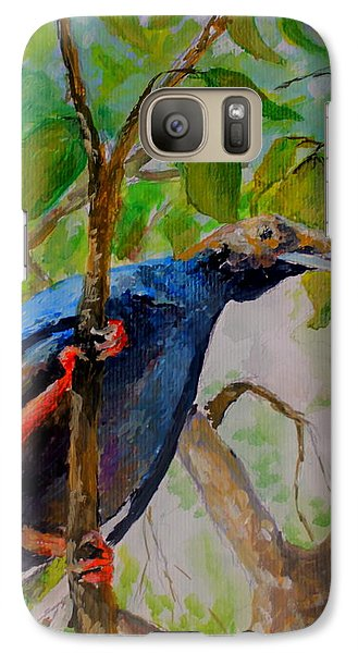 Galaxy Case featuring the painting Angel Bird Of  North Moluccas by Jason Sentuf