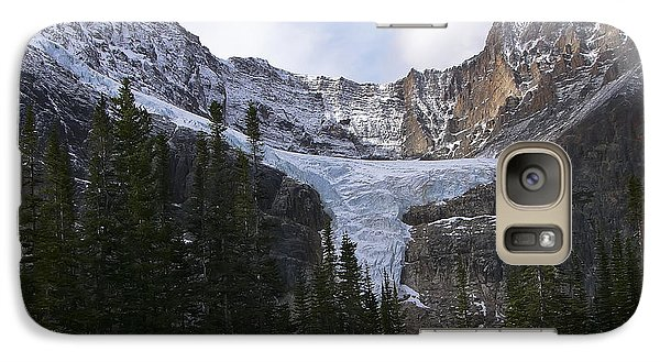 Galaxy Case featuring the photograph Angel Glacier by Rhonda McDougall