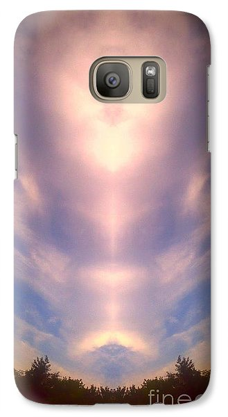 Galaxy Case featuring the photograph Angel Heart by Karen Newell