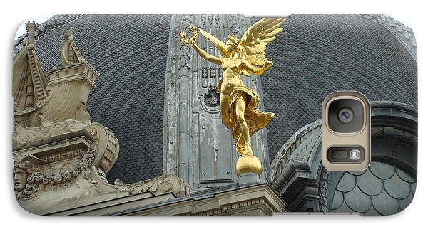 Galaxy Case featuring the photograph Angel In Paris by Kay Gilley