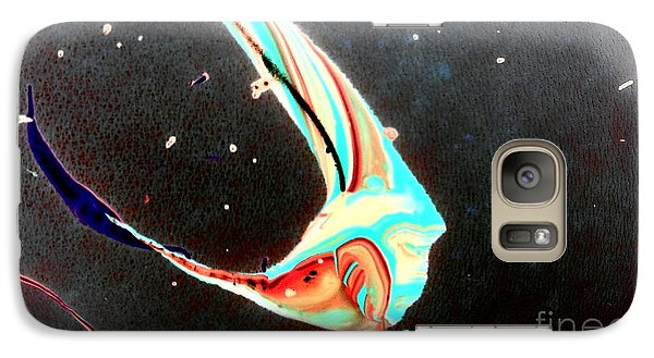 Galaxy Case featuring the painting Angel by Jacqueline McReynolds