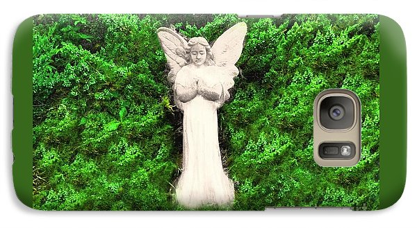 Galaxy Case featuring the photograph Angel My Gaurdian by Becky Lupe
