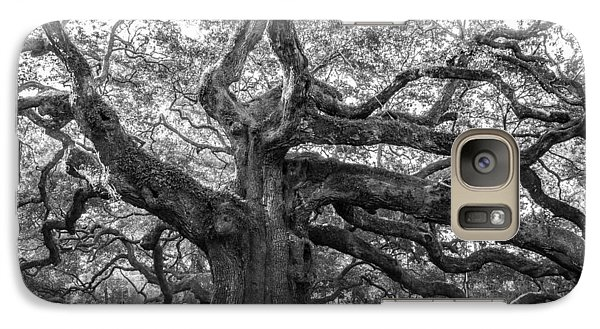 Galaxy Case featuring the photograph Angel Oak Tree by Patricia Schaefer