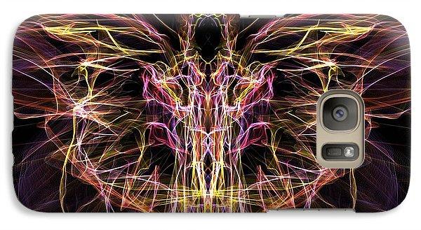 Galaxy Case featuring the digital art Angel Of Death by Lilia D