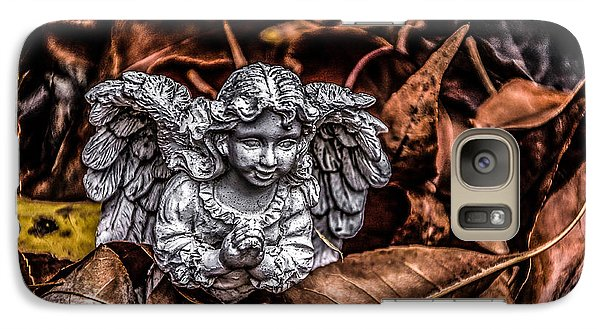 Galaxy Case featuring the photograph Angel Of Fall by Ray Congrove