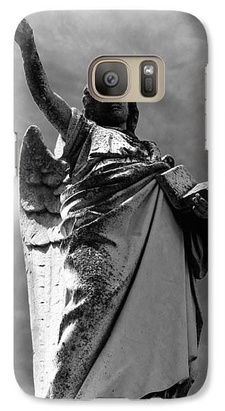 Galaxy Case featuring the photograph Angel Of The Book Of Life by Lisa Brandel