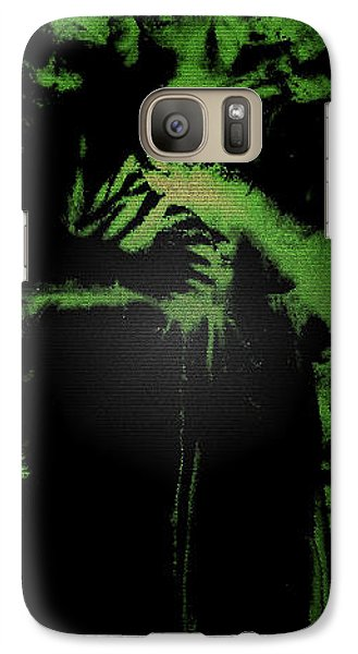 Galaxy Case featuring the photograph Angel Of The Forest by Lisa Brandel