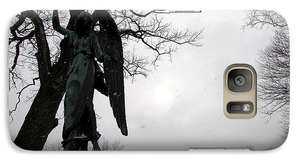 Galaxy Case featuring the photograph Angel Over Me by Kimberly Mackowski