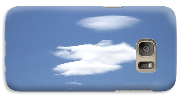 Galaxy Case featuring the photograph Angel Returning Home by Marilyn Diaz