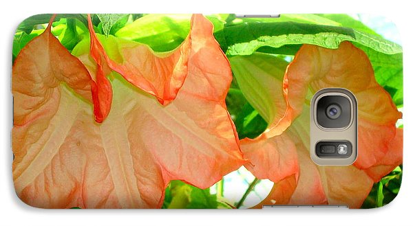 Galaxy Case featuring the photograph Angel Trumpet  by Kay Gilley
