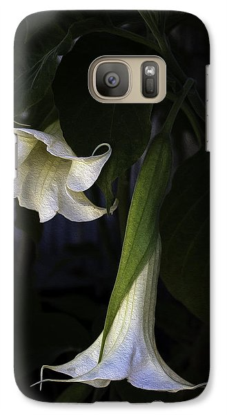 Galaxy Case featuring the photograph Angel Trumpet by Wayne Meyer