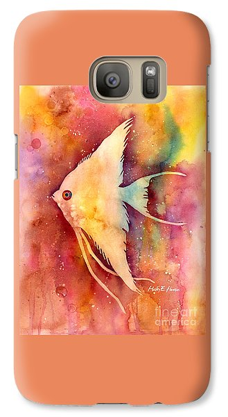 Angelfish II Galaxy S7 Case by Hailey E Herrera