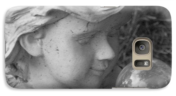Galaxy Case featuring the photograph Angelic Gaze by Bruce Carpenter