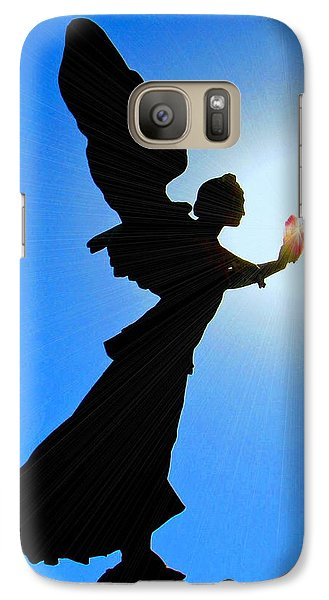 Galaxy Case featuring the photograph Angelic by Patrick Witz