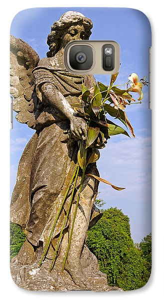 Galaxy Case featuring the photograph Angel's Bouquet by Andy Crawford