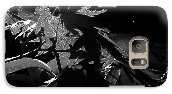 Galaxy Case featuring the photograph Angels Or Dragons B/w by Martin Howard