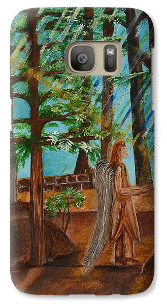 Galaxy Case featuring the painting Angle In Idyllwild by Cassie Sears