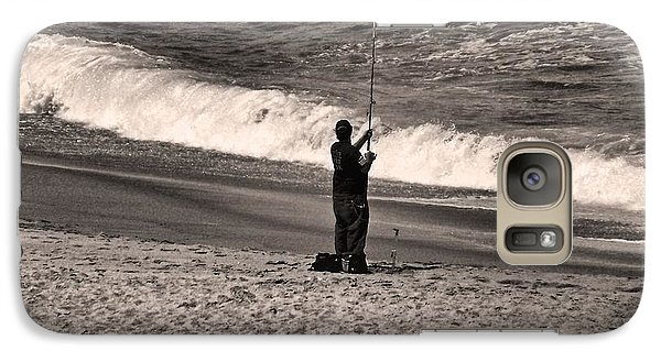 Galaxy Case featuring the photograph Angler by Bob Wall