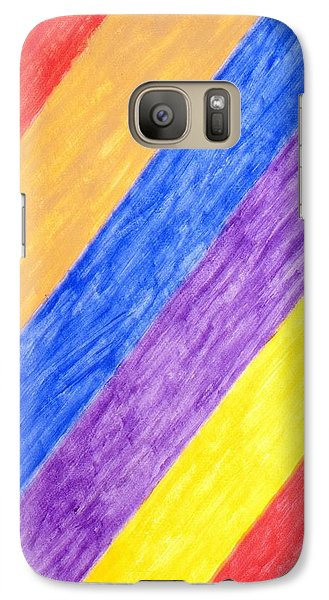 Galaxy Case featuring the painting Angles by Stormm Bradshaw